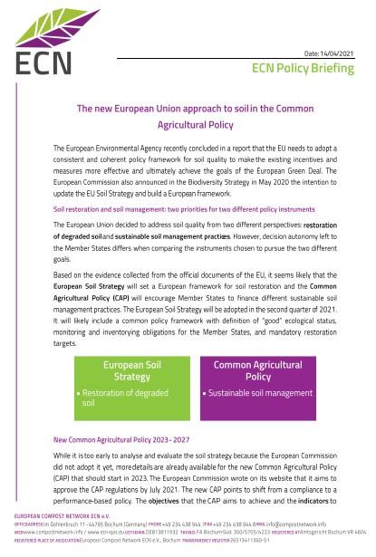 ECN Policy Briefing CAP