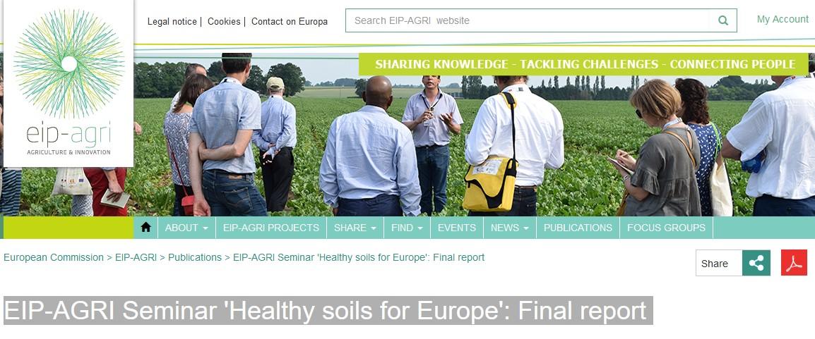 EIP_AGRI Healthy Soils